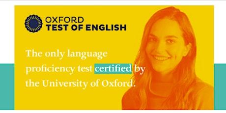 Webinar gratuito: Oxford Test of English- Santa Fe entradas