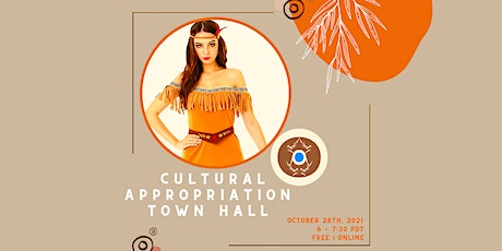 Cultural Appropriation Townhall tickets