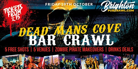 Dead Mans Cove Bar Crawl in Brighton // 5 Venues // Free Shots // + More tickets