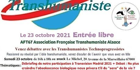 Retour de Transvision Madrid 2021 + Débat Transhumaniste billets