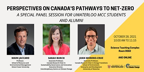 MCC Special Panel: Perspectives on Canada's Policy Pathways to Net-Zero tickets