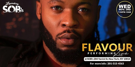 Flavour Live @ SOB's tickets