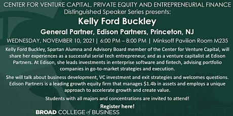 Center for Venture Capital presents: Distinguished Speaker Series tickets