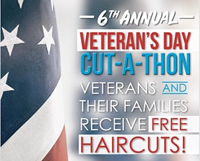 6th Annual Veteran's Day Cut-A-Thon tickets