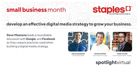 Develop an Effective Digital Media Strategy to Grow Your Business tickets