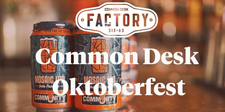 Common Desk Oktoberfest! tickets