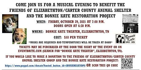 Animal Shelter Fundraising Concert tickets