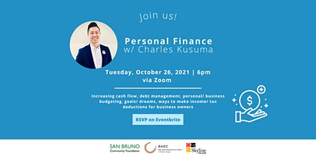 Personal Finance w/ Charles Kusuma tickets