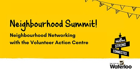 Neighbourhood Networking with the Volunteer Action Centre tickets