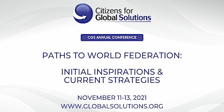 Citizens for Global Solutions National Conference 2021 tickets