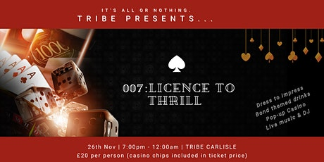 007: Licence To Thrill tickets