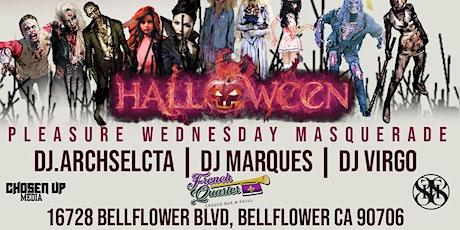 (Pleasure Wednesdays) Marsquerade tickets
