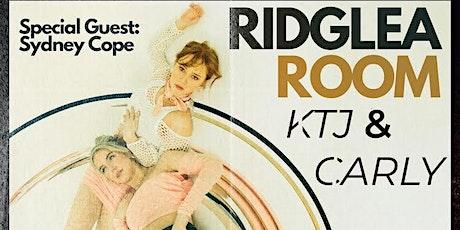 KTJ & Carly Live at the Ridglea Room tickets