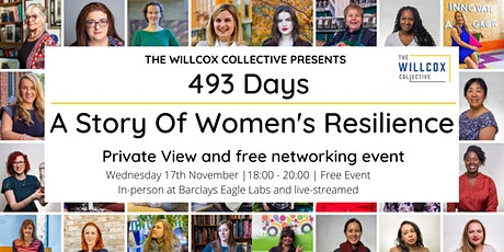 493 Days, A Story of Women's Resilience Premiere   In Person tickets