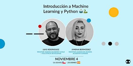 Introducción a Machine Learning y Python by 4Geeks & Revolución STEAM tickets