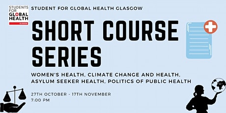 Students for Global Health: Educational Short `Course ingressos