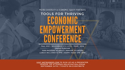 Tools for Thriving   Economic Empowerment Conference tickets