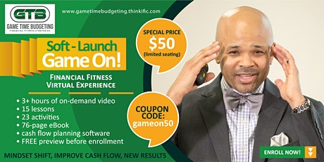 Game On - A Financial Fitness Experience! Online course available 24/7 tickets