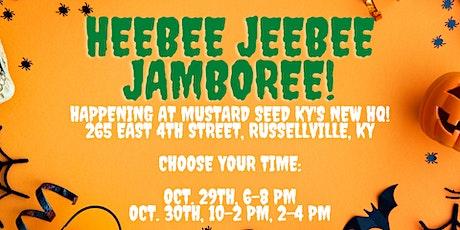 Heebee Jeebee Jamboree! Arts & Crafts Party for Kids tickets