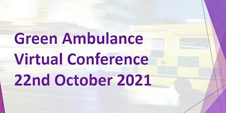 Green Ambulance Virtual Conference tickets
