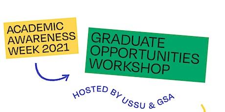 Graduate Opportunities Workshop tickets