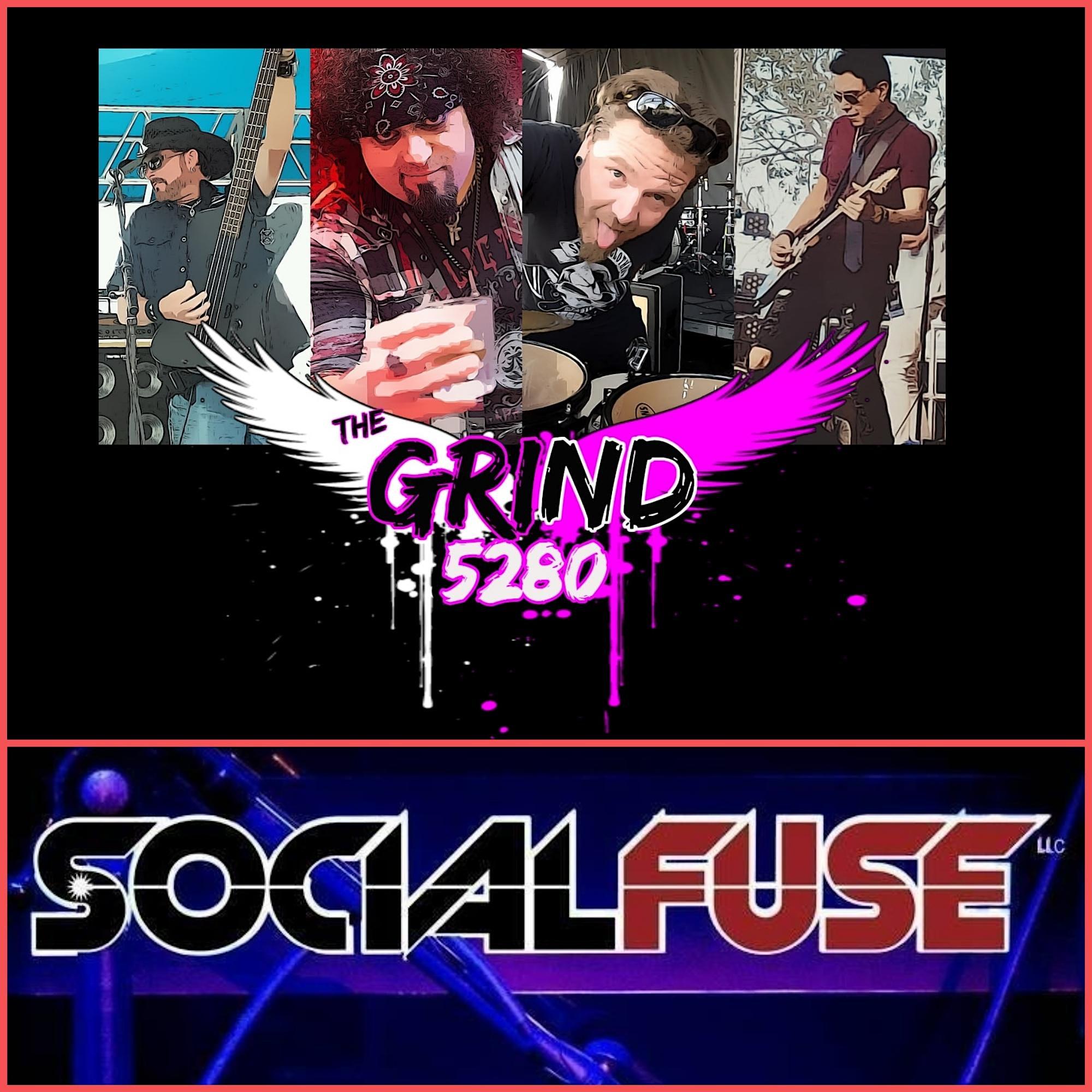 THE GRIND 5280 AND SOCIAL FUSE ROCK DENVER!