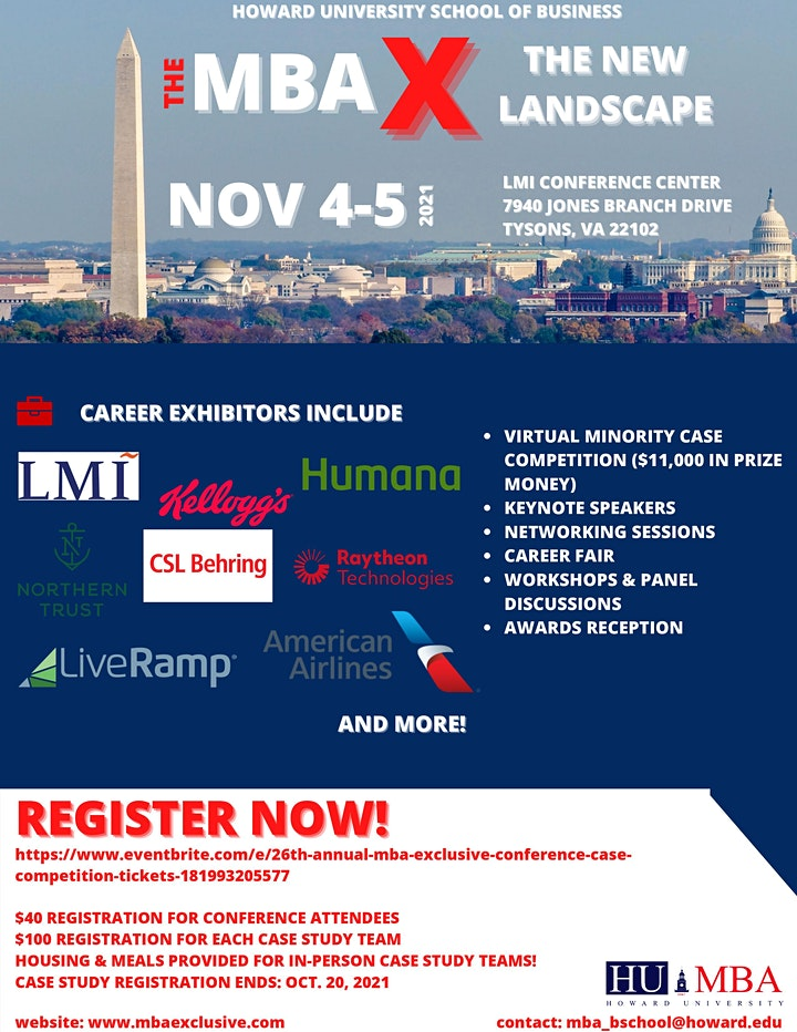 25th Annual MBA Exclusive Conference & Case Competition image