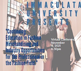 """""""Continuing Education in Fashion Merchandising and Industry Opportunities tickets"""