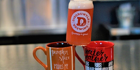 Crafts & Brews Night - Clay your Way + Disgruntled Brewing Event tickets