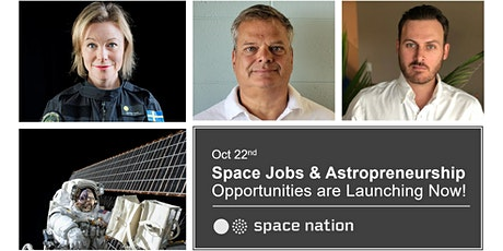 Space Jobs and Astropreneurship Opportunities are Launching Now! tickets