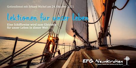 Gottesdienst mit Erhard Michel Tickets