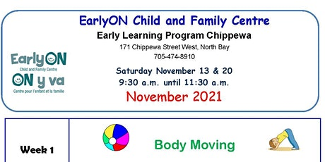 Early Learning Chippewa Saturdays tickets