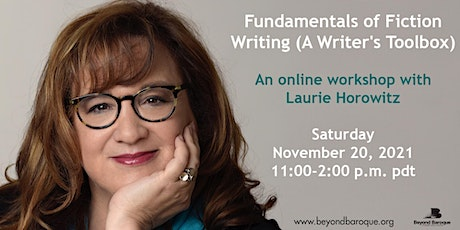 Fundamentals of Fiction Writing (A Writer's Toolbox) with Laurie Horowitz tickets