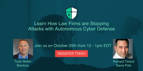Learn How Top Law Firms are Stopping Attacks with Autonomous Cyber Defense tickets