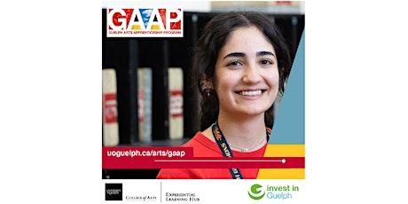 Guelph Arts Apprenticeship Program Employer Information Session tickets