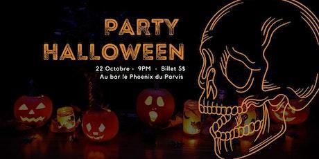 Party d'Halloween ADÉBAUL billets