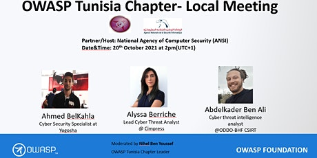 OWASP Tunisia Chapter- Local Meeting billets