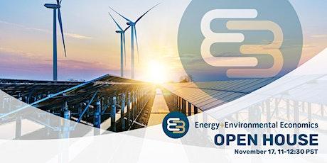Energy and Environmental Economics (E3) Fall 2021 Open House tickets