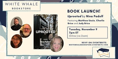 """Book Launch! """"Uprooted"""" by Nina Padolf w/ Ussia, Brice, and Brice tickets"""