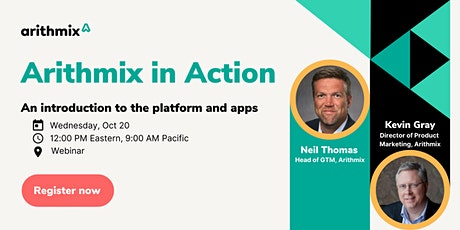 Webinar- Arithmix in Action: An introduction to the platform and apps tickets