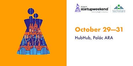 Techstars Startup Weekend Prague 29.10 - 31.10.2021 tickets