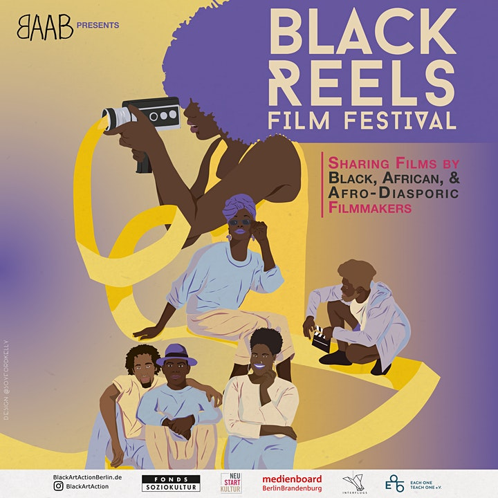 Online Screening - Black Reels Film Festival image