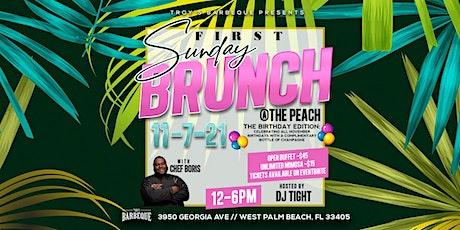 First Sunday Brunch tickets