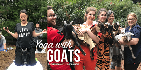 Yoga with Goats, Wine and Chocolates 10/23 (21&up) tickets
