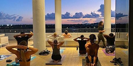 Sunset Rooftop Yoga Night tickets