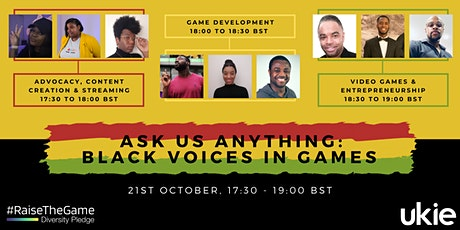 #RaiseTheGame Ask Us Anything: Black Voices In Games tickets
