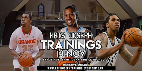 Training session with former NBA player Kris Joseph tickets