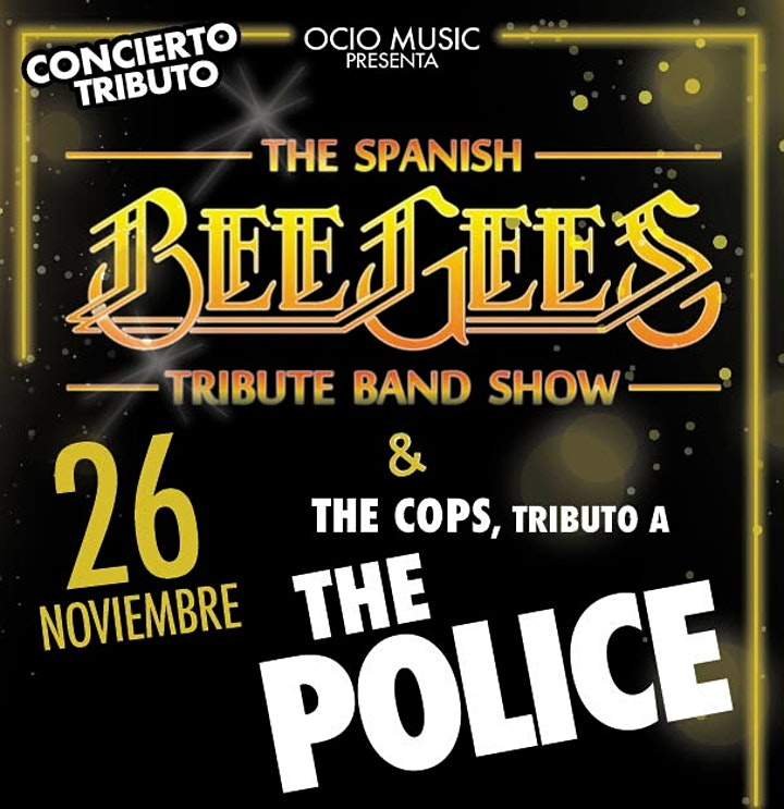 Tributo a BEE GEES & THE POLICE image