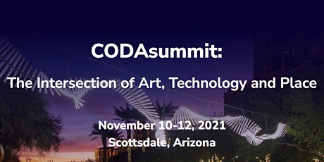 CODAworx: CODAsummit 2021 - The Intersection of Art, Technology and Place tickets