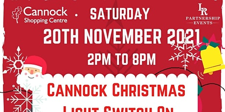 Free visit to Santa's Grotto at Cannock Christmas Light Switch On ! tickets